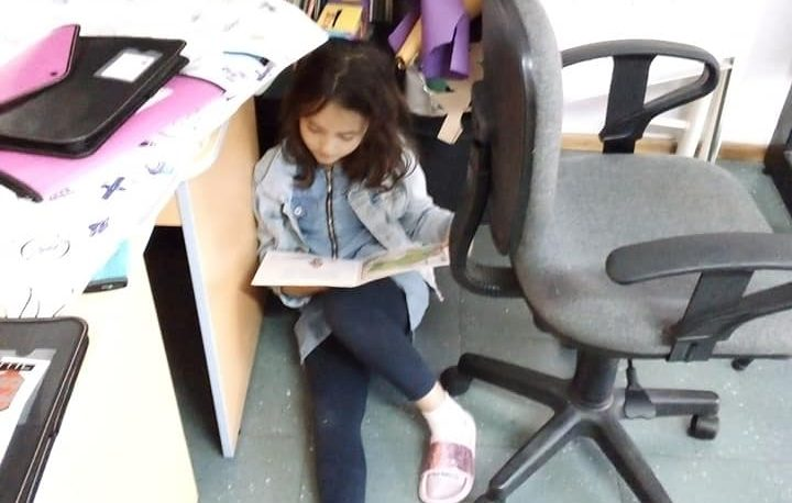 Най-удобното местенце за четене